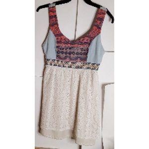 Flying Tomato Mini Dress Size L Boho/Hippie